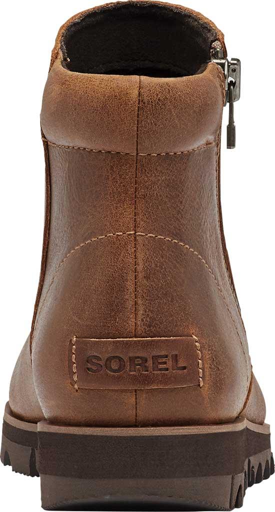 Women's Sorel Harlow Zip Waterproof Boot, Velvet Tan Waterproof Full Grain Leather, large, image 4