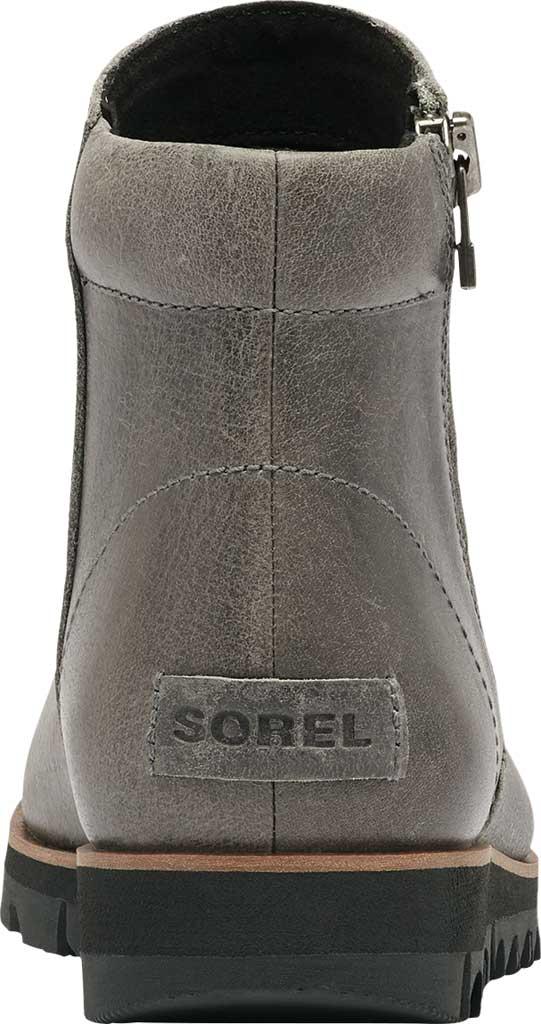 Women's Sorel Harlow Zip Waterproof Boot, Quarry Waterproof Full Grain Leather, large, image 4