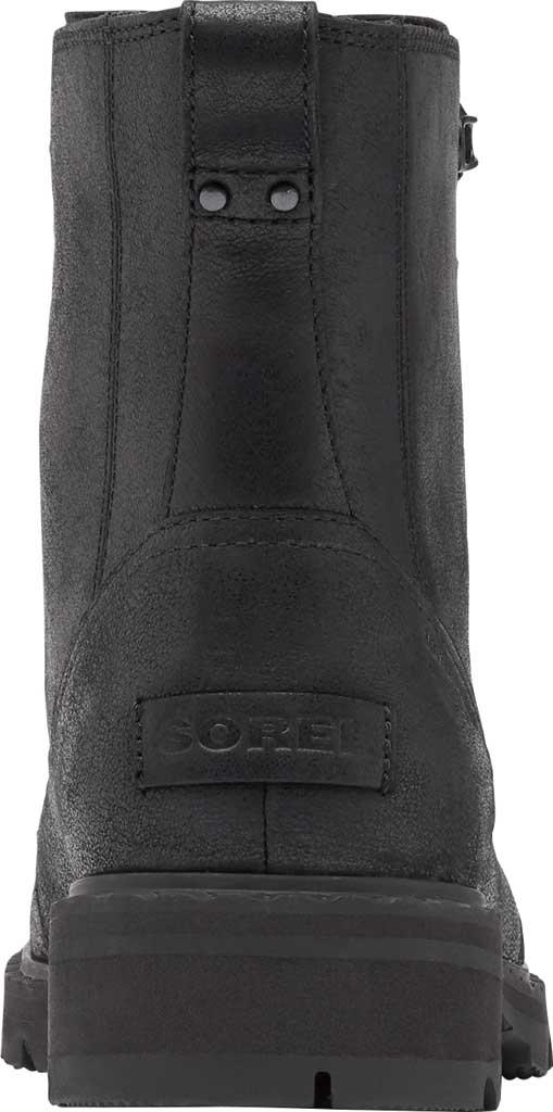 Women's Sorel Lennox Lace Waterproof Boot, Black Waterproof Full Grain Leather, large, image 4