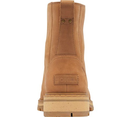 Women's Sorel Lennox Lace Waterproof Boot, Velvet Tan Waterproof Full Grain Leather, large, image 4