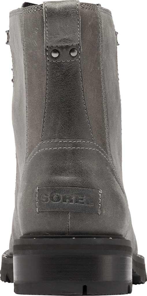 Women's Sorel Lennox Lace Waterproof Boot, Quarry Waterproof Full Grain Leather, large, image 4