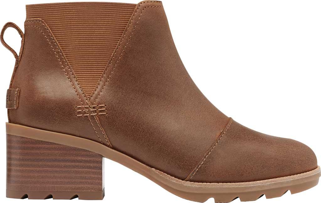 Women's Sorel Cate Chelsea Waterproof Boot, Velvet Tan Waterproof Full Grain Leather/Gore, large, image 2