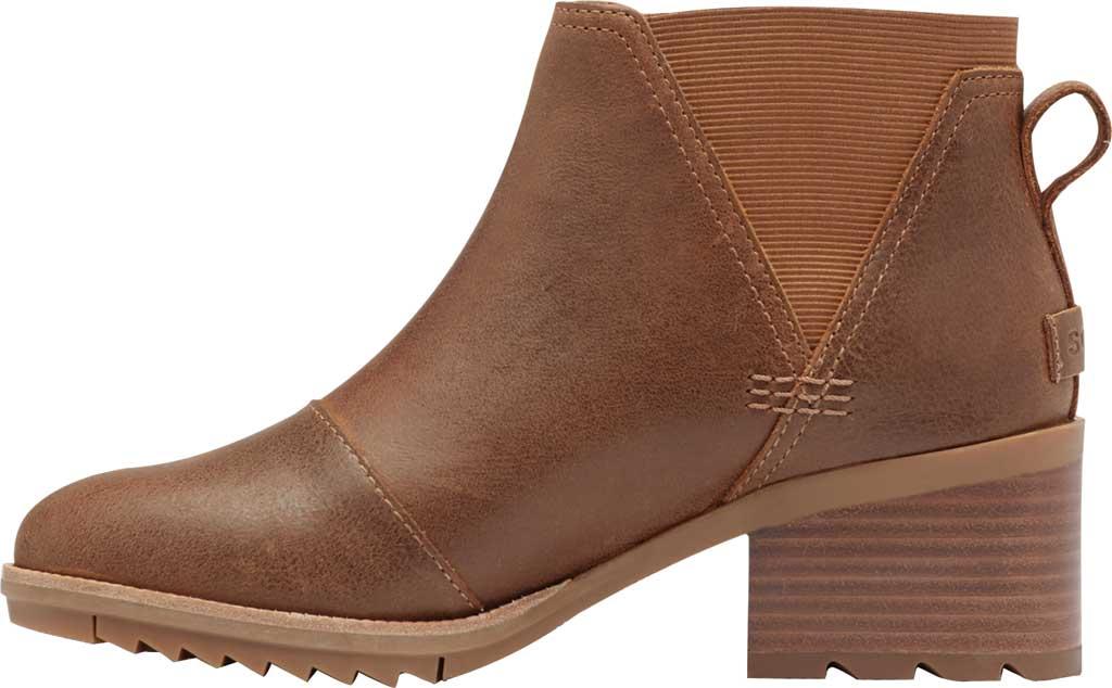 Women's Sorel Cate Chelsea Waterproof Boot, Velvet Tan Waterproof Full Grain Leather/Gore, large, image 3