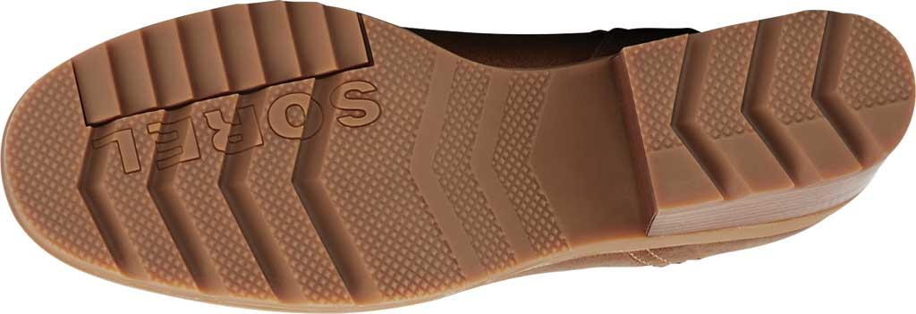 Women's Sorel Cate Chelsea Waterproof Boot, Velvet Tan Waterproof Full Grain Leather/Gore, large, image 6