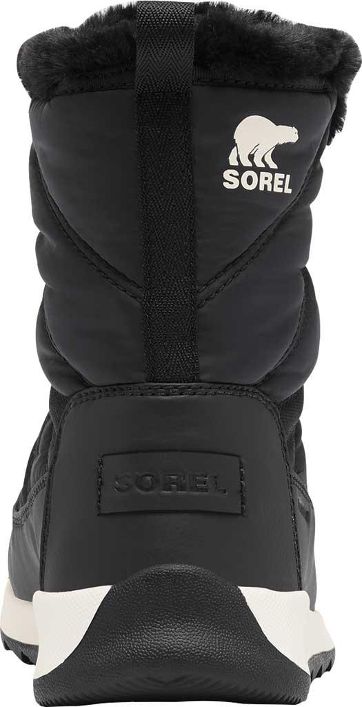 Women's Sorel Whitney II Short Lace Waterproof Boot, Black Waterproof Nylon/Polyurethane, large, image 4