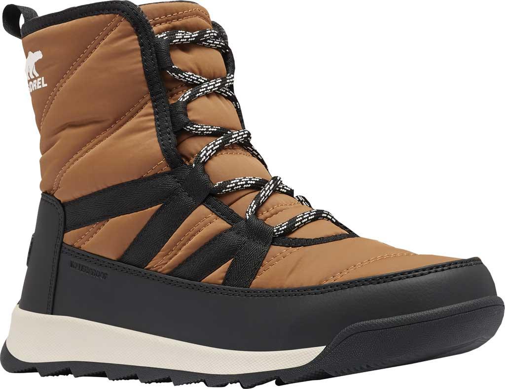 Women's Sorel Whitney II Short Lace Waterproof Boot, Elk Waterproof Nylon/Polyurethane, large, image 1