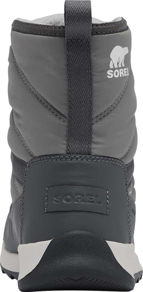 Women's Sorel Whitney II Short Lace Waterproof Boot, Quarry Waterproof Nylon/Polyurethane, large, image 4