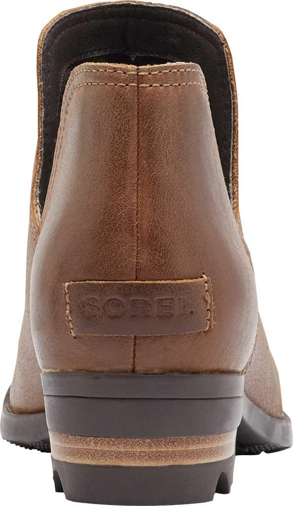 Women's Sorel Lolla II Cut Out Waterproof Bootie, Velvet Tan Waterproof Leather, large, image 4