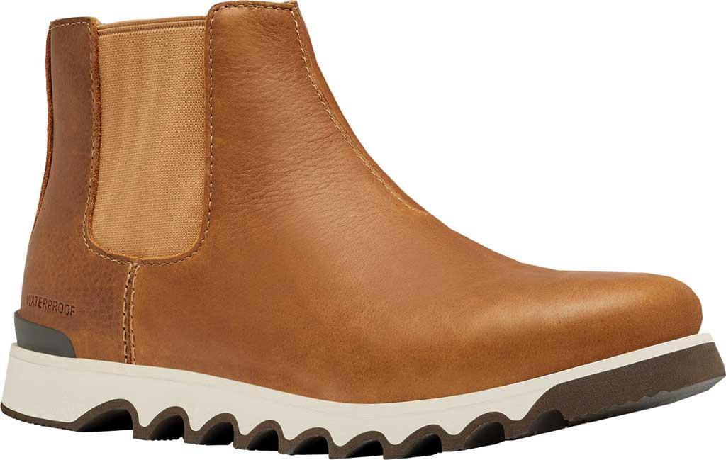 Men's Sorel Kezar Chelsea Waterproof Boot, Elk Waterproof Full Grain Leather, large, image 1
