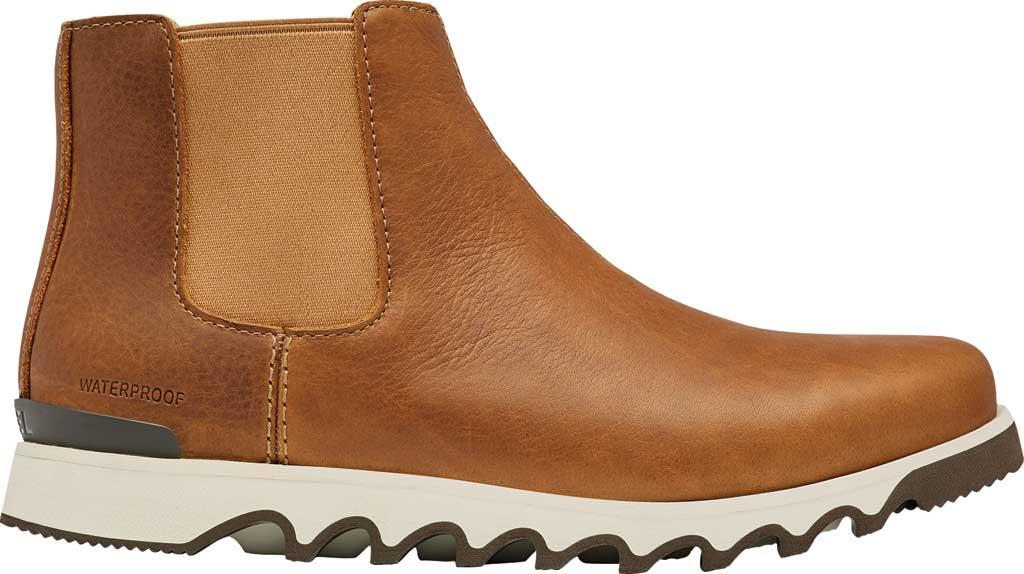 Men's Sorel Kezar Chelsea Waterproof Boot, Elk Waterproof Full Grain Leather, large, image 2