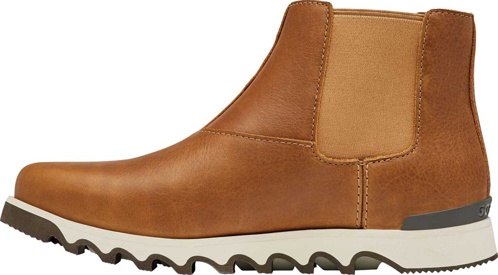 Men's Sorel Kezar Chelsea Waterproof Boot, Elk Waterproof Full Grain Leather, large, image 3