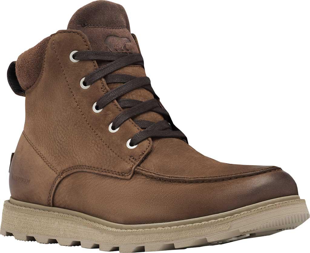 Men's Sorel Madson II Moc Toe Waterproof Boot, Tobacco Waterproof Leather/Nubuck, large, image 1