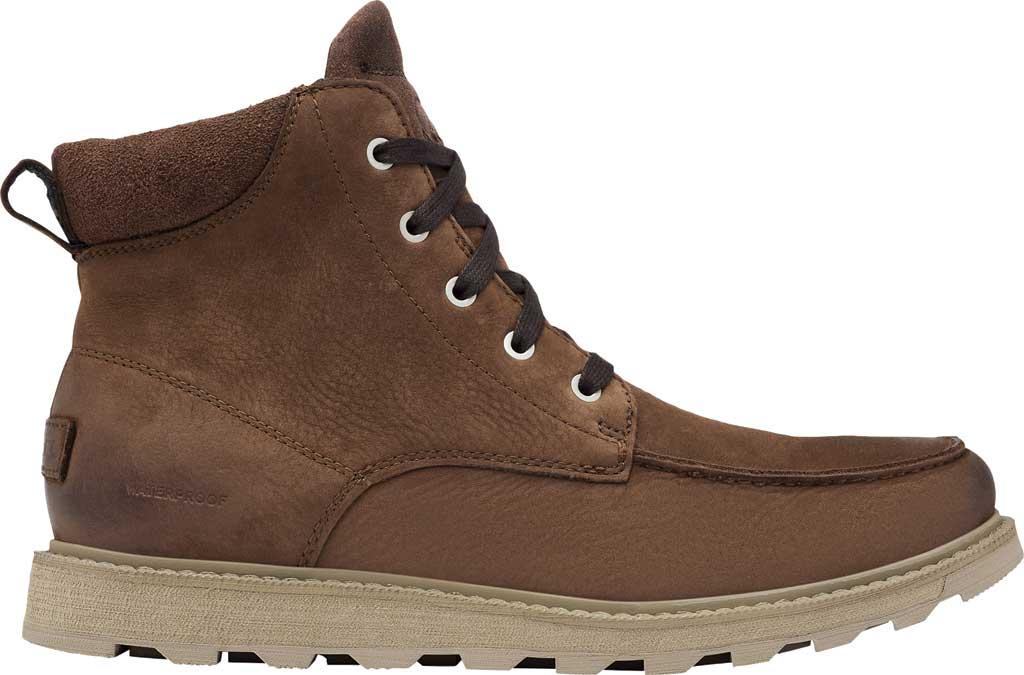Men's Sorel Madson II Moc Toe Waterproof Boot, Tobacco Waterproof Leather/Nubuck, large, image 2