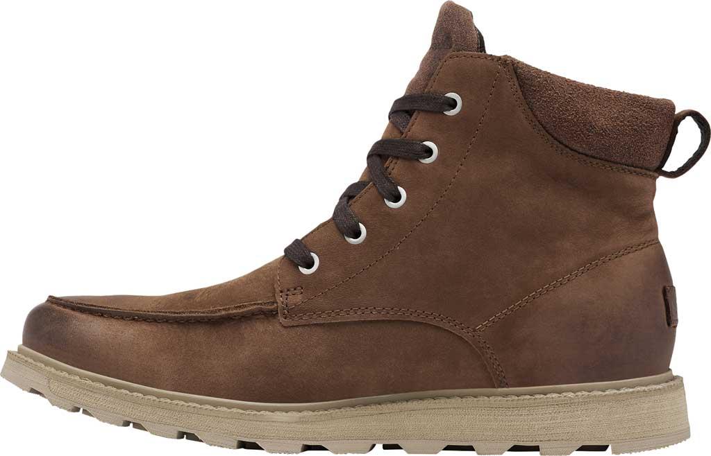 Men's Sorel Madson II Moc Toe Waterproof Boot, Tobacco Waterproof Leather/Nubuck, large, image 3