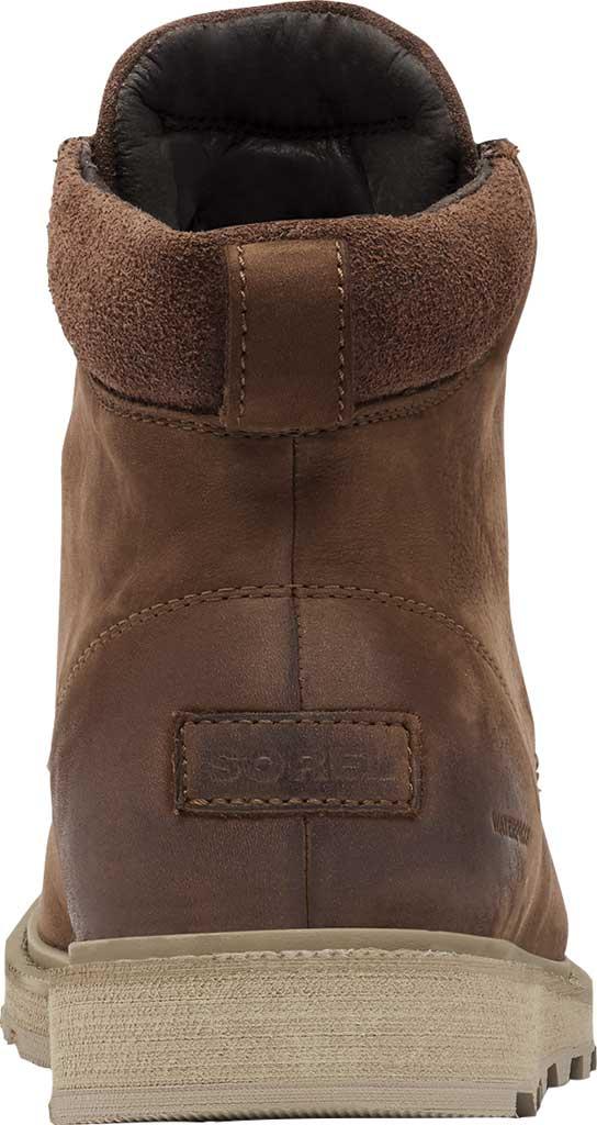 Men's Sorel Madson II Moc Toe Waterproof Boot, Tobacco Waterproof Leather/Nubuck, large, image 4