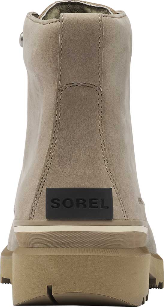Men's Sorel Caribou Six Waterproof Boot, Khaki II Waterproof Full Grain Leather, large, image 4