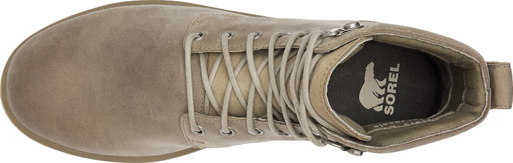 Men's Sorel Caribou Six Waterproof Boot, Khaki II Waterproof Full Grain Leather, large, image 5