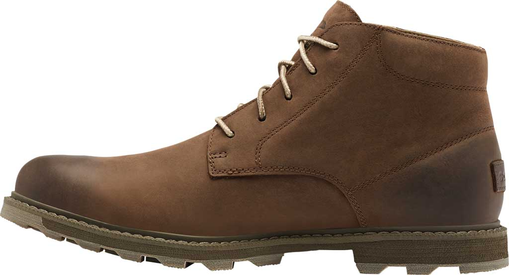 Men's Sorel Madson II Waterproof Boot, Tobacco Waterproof Suede/Synthetic, large, image 3