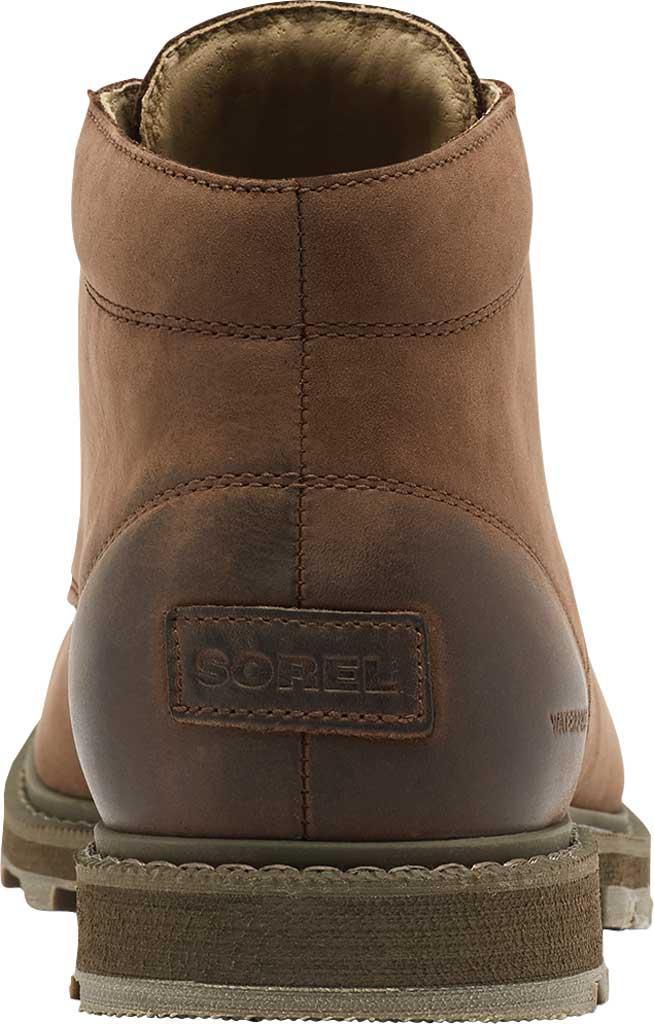 Men's Sorel Madson II Waterproof Boot, Tobacco Waterproof Suede/Synthetic, large, image 4