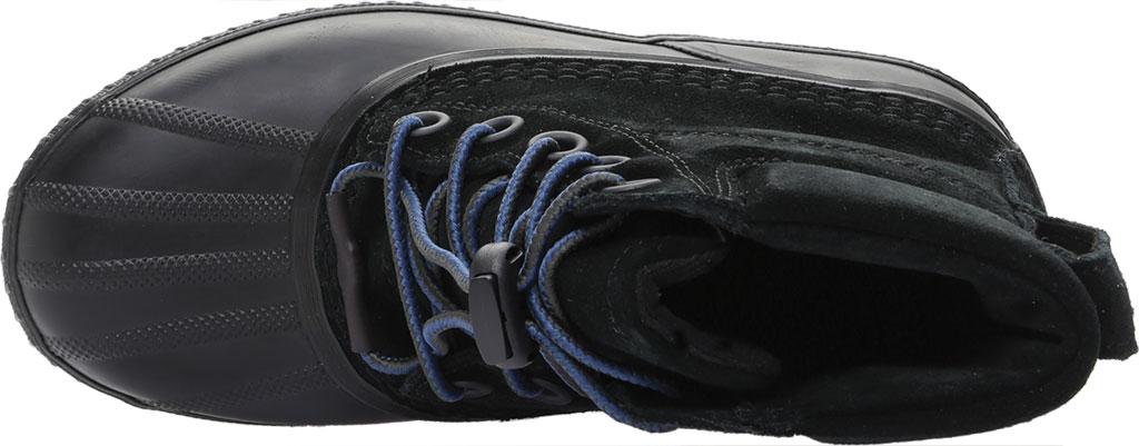 Boys' Sorel Youth Cheyanne II Waterproof Duck Boot, Black Waterproof Suede, large, image 5
