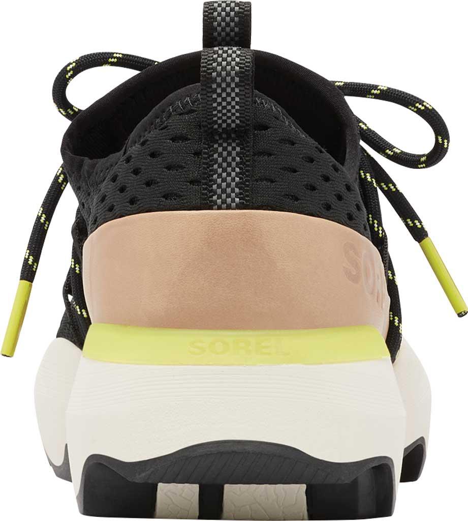 Women's Sorel Kinetic Impact Lace Sneaker, Black Air Mesh, large, image 4
