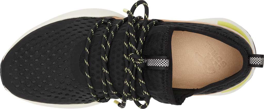 Women's Sorel Kinetic Impact Lace Sneaker, Black Air Mesh, large, image 5