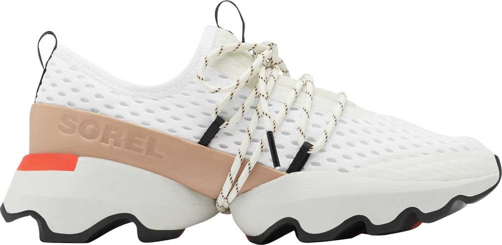 Women's Sorel Kinetic Impact Lace Sneaker, Sea Salt Air Mesh, large, image 2