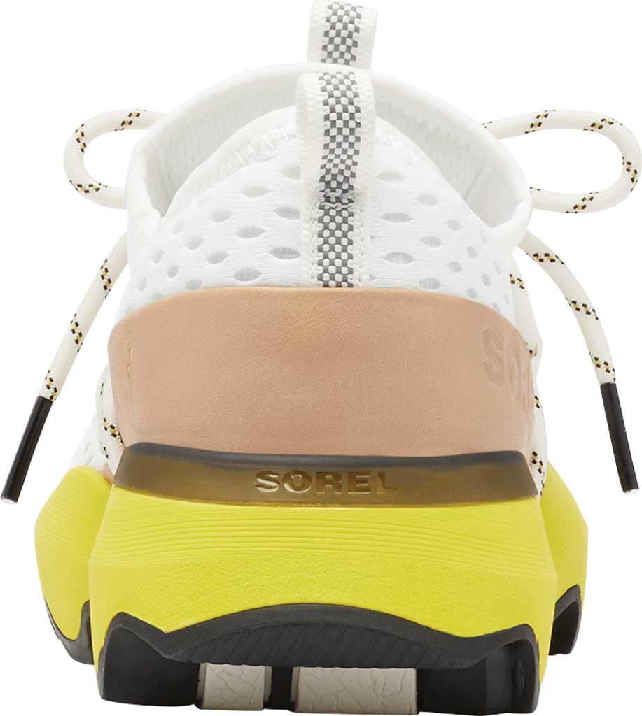Women's Sorel Kinetic Impact Lace Sneaker, Sea Salt/Yellow Air Mesh, large, image 4