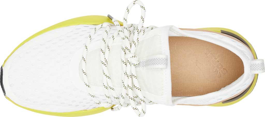 Women's Sorel Kinetic Impact Lace Sneaker, Sea Salt/Yellow Air Mesh, large, image 5