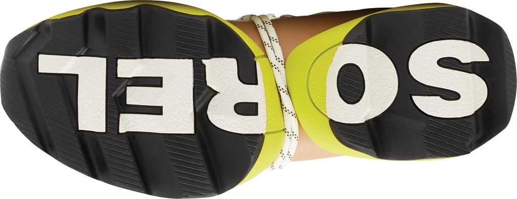 Women's Sorel Kinetic Impact Lace Sneaker, Sea Salt/Yellow Air Mesh, large, image 6