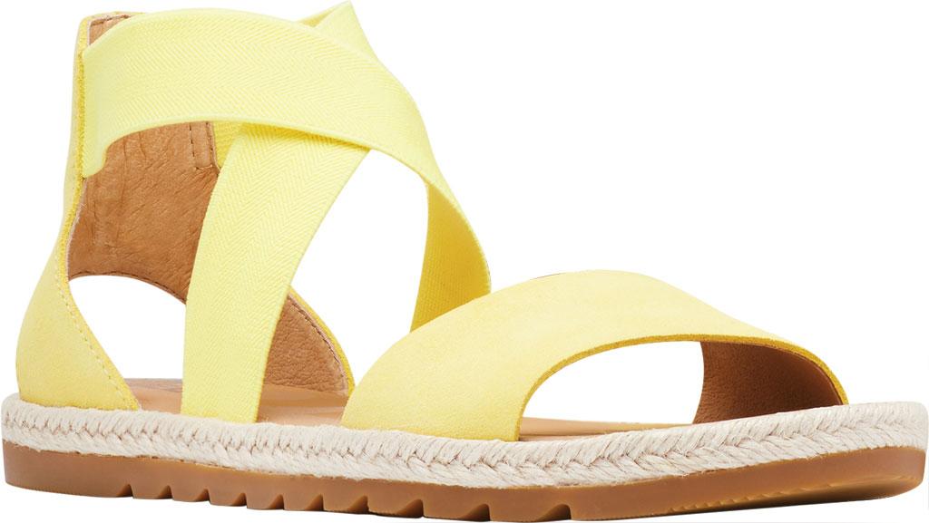 Women's Sorel Ella II Flat Sandal, Sunnyside Suede, large, image 1