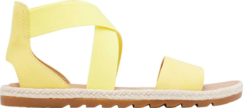 Women's Sorel Ella II Flat Sandal, Sunnyside Suede, large, image 2