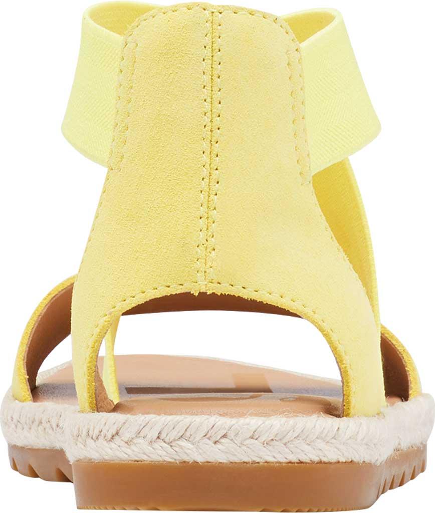 Women's Sorel Ella II Flat Sandal, Sunnyside Suede, large, image 4