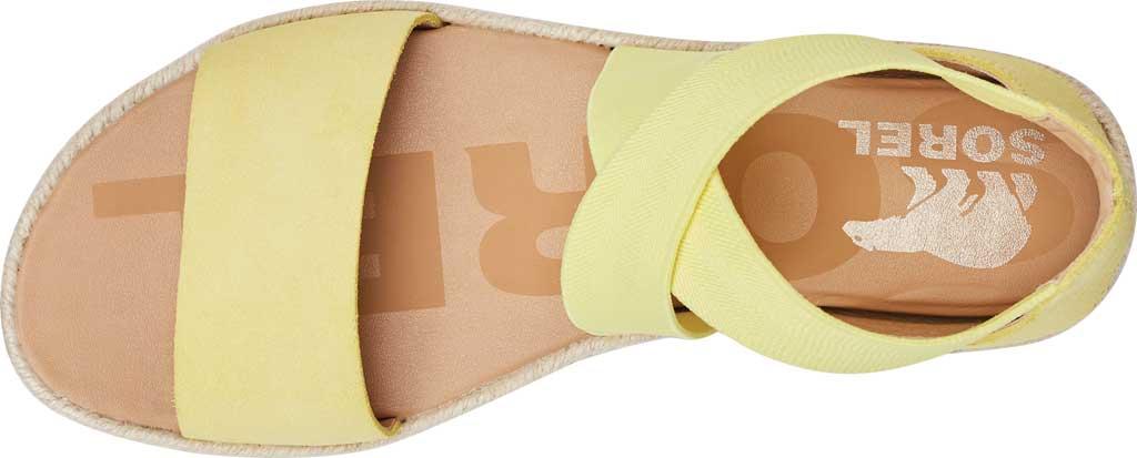 Women's Sorel Ella II Flat Sandal, Sunnyside Suede, large, image 5