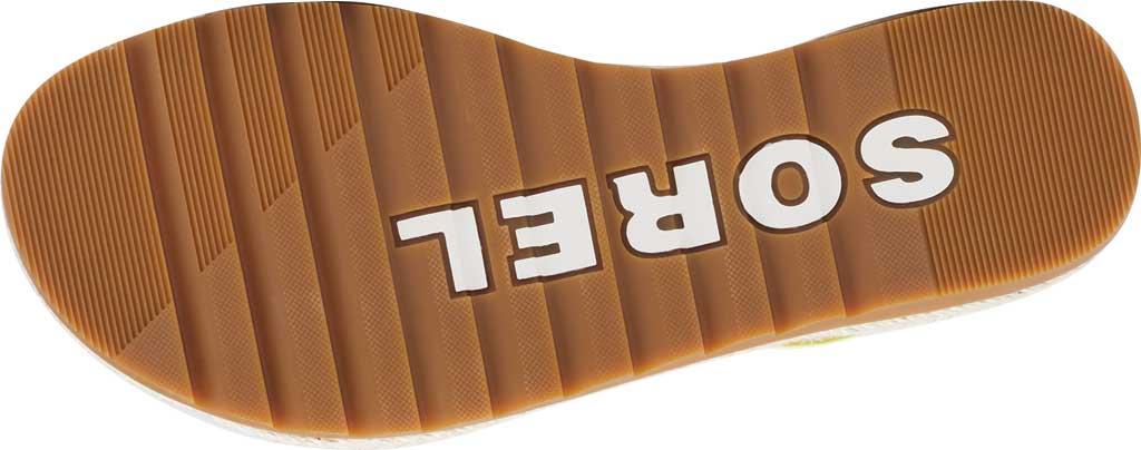 Women's Sorel Ella II Flat Sandal, Sunnyside Suede, large, image 6