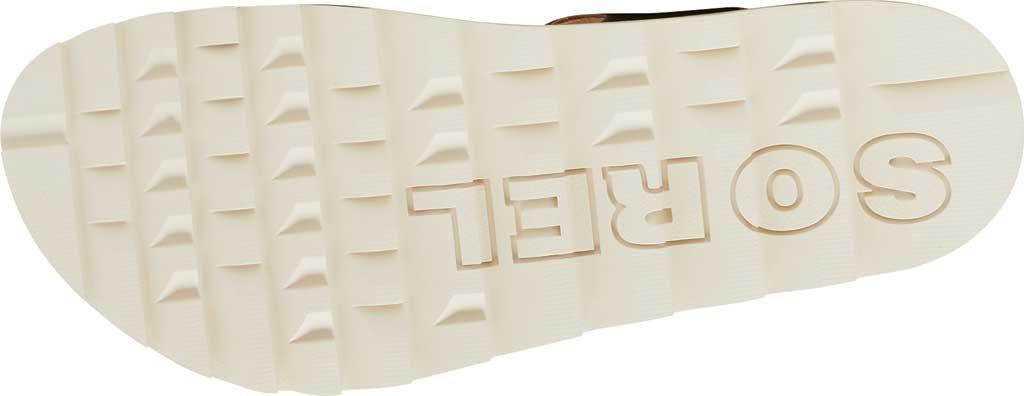 Women's Sorel Roaming Decon Ankle Strap Flat Sandal, Velvet Tan Full Grain Leather, large, image 6