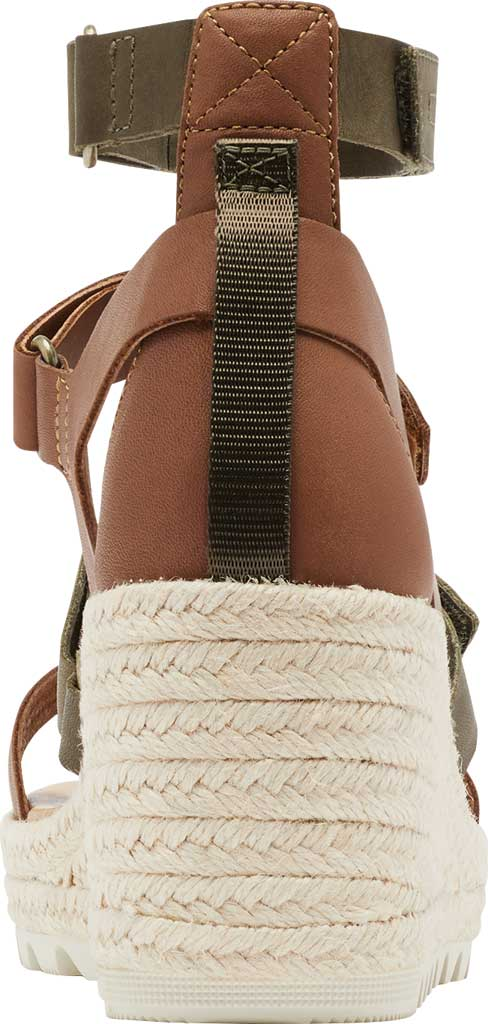 Women's Sorel Cameron Wedge Strappy Sandal, Velvet Tan Full Grain Leather, large, image 4