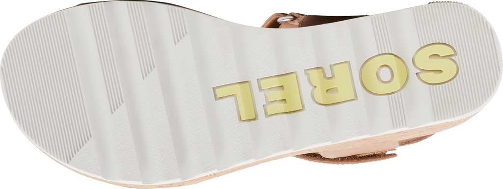 Women's Sorel Cameron Wedge Ankle Strap Sandal, Honest Beige Full Grain Leather, large, image 6