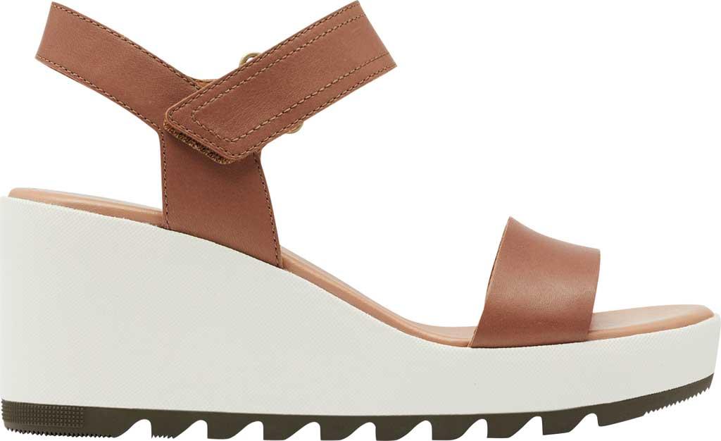 Women's Sorel Cameron Wedge Ankle Strap Sandal, Velvet Tan Full Grain Leather, large, image 2