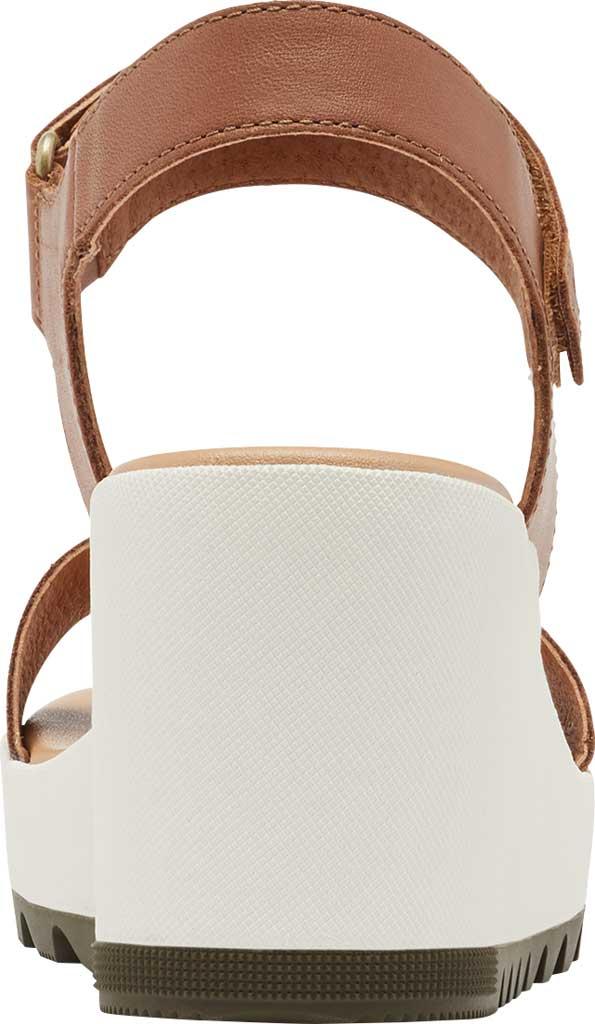 Women's Sorel Cameron Wedge Ankle Strap Sandal, Velvet Tan Full Grain Leather, large, image 4