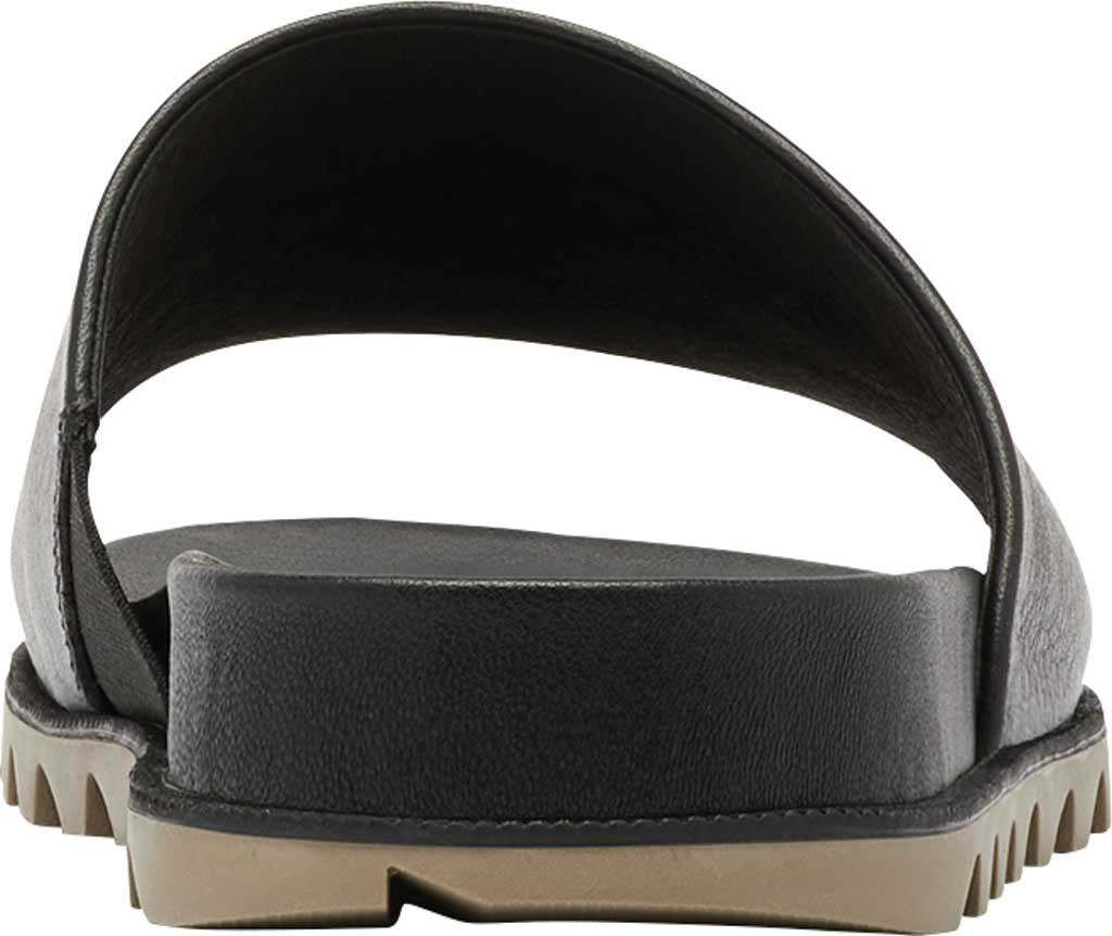 Women's Sorel Roaming Decon Slide, Black Full Grain Leather, large, image 4