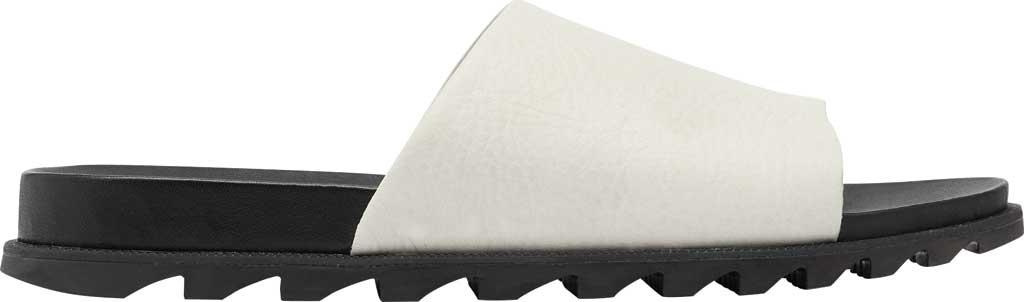 Women's Sorel Roaming Decon Slide, Sea Salt Full Grain Leather, large, image 2