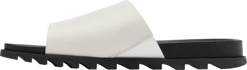 Women's Sorel Roaming Decon Slide, Sea Salt Full Grain Leather, large, image 3