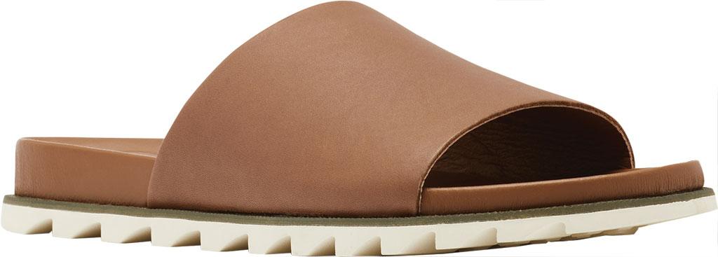 Women's Sorel Roaming Decon Slide, Velvet Tan Full Grain Leather, large, image 1