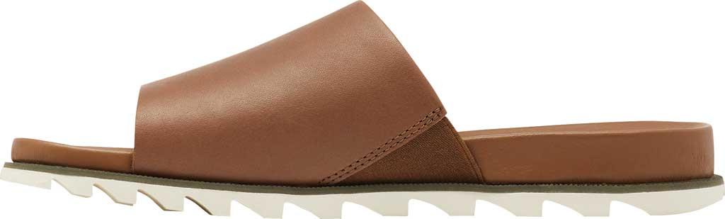 Women's Sorel Roaming Decon Slide, Velvet Tan Full Grain Leather, large, image 3