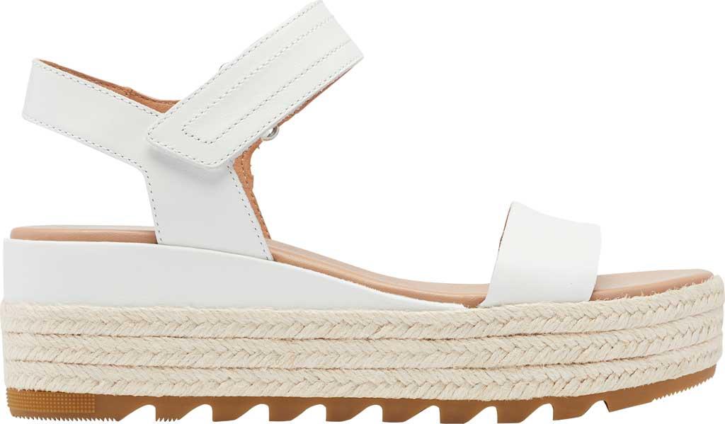 Women's Sorel Cameron Flatform Ankle Strap Sandal, Sea Salt Full Grain Leather, large, image 2