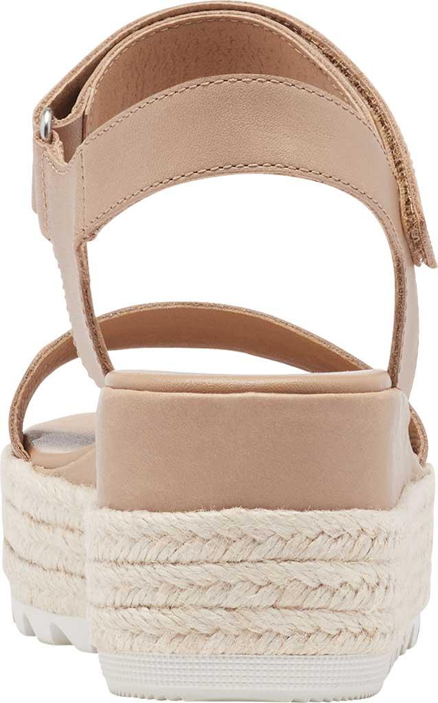 Women's Sorel Cameron Flatform Ankle Strap Sandal, Honest Beige Full Grain Leather, large, image 4