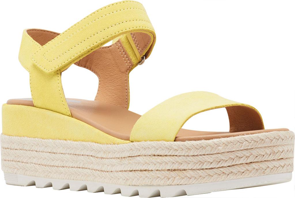 Women's Sorel Cameron Flatform Ankle Strap Sandal, Sunnyside Suede, large, image 1