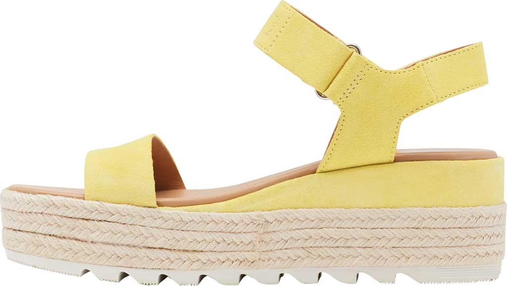 Women's Sorel Cameron Flatform Ankle Strap Sandal, Sunnyside Suede, large, image 3