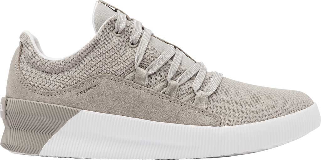 Women's Sorel Out N About Plus Lace Sneaker, Dove Waterproof Mesh/Suede, large, image 2